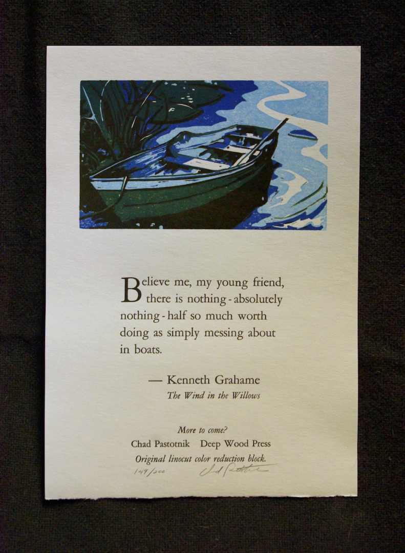 Wind in the Willows broadside